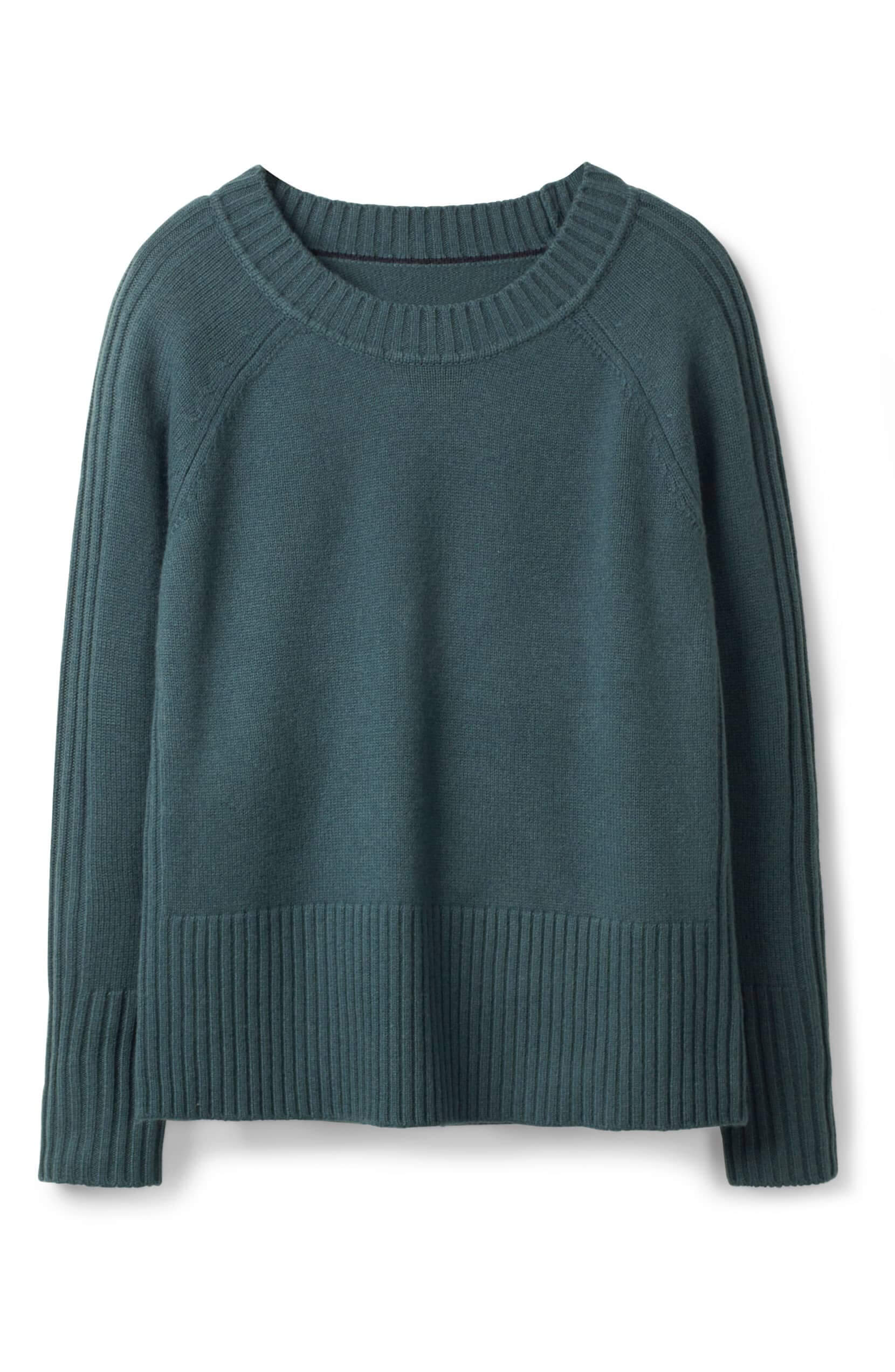 6acace1361b Heidi ribbed sleeve wool cashmere sweater