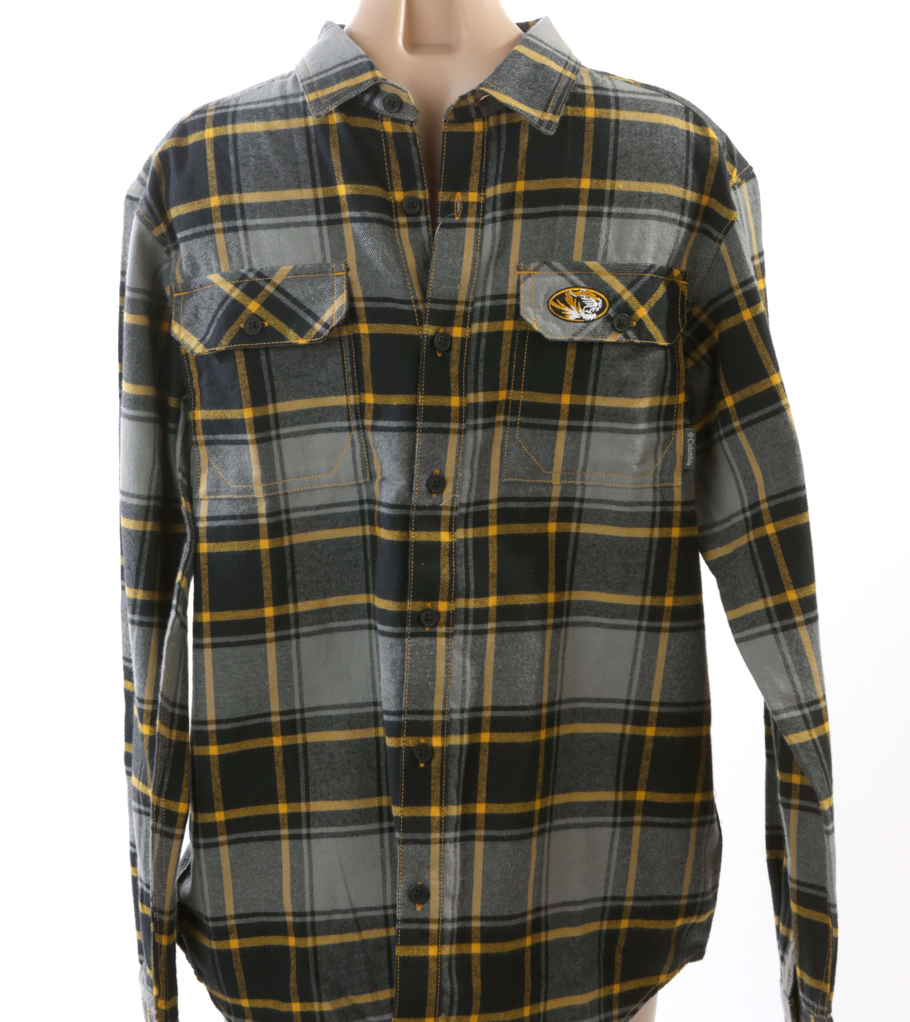 5df6175d12a Mizzou men's flannel shirt | The List | stltoday.com